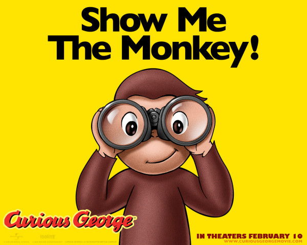 Curious George poster