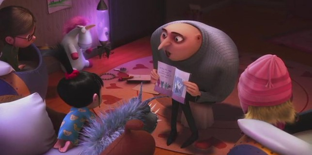 Despicable Me - Gru Tells Bedtime Story