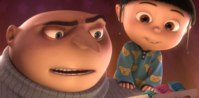 Despicable Me - Gru and Agnes