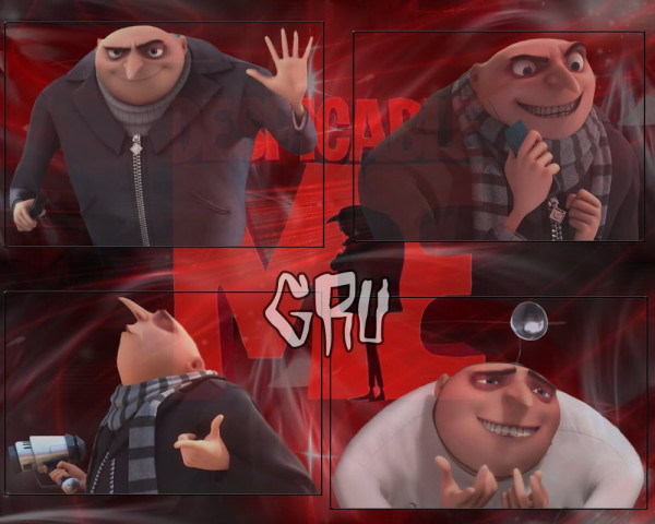 Despicable Me - Gru: Four Shot