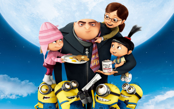 Despicable Me - Gru, Girls and Minions