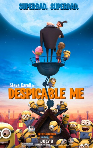 Despicable Me - Poster: Superbad. Superdad.
