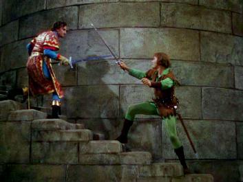 The Adventures of Robin Hood Swordfight