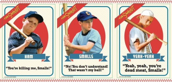 Sandlot Baseball Cards